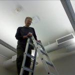 A climb towards the ceiling: